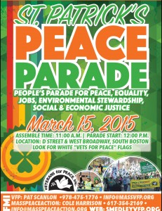 St Pats Peace Flyer 2015