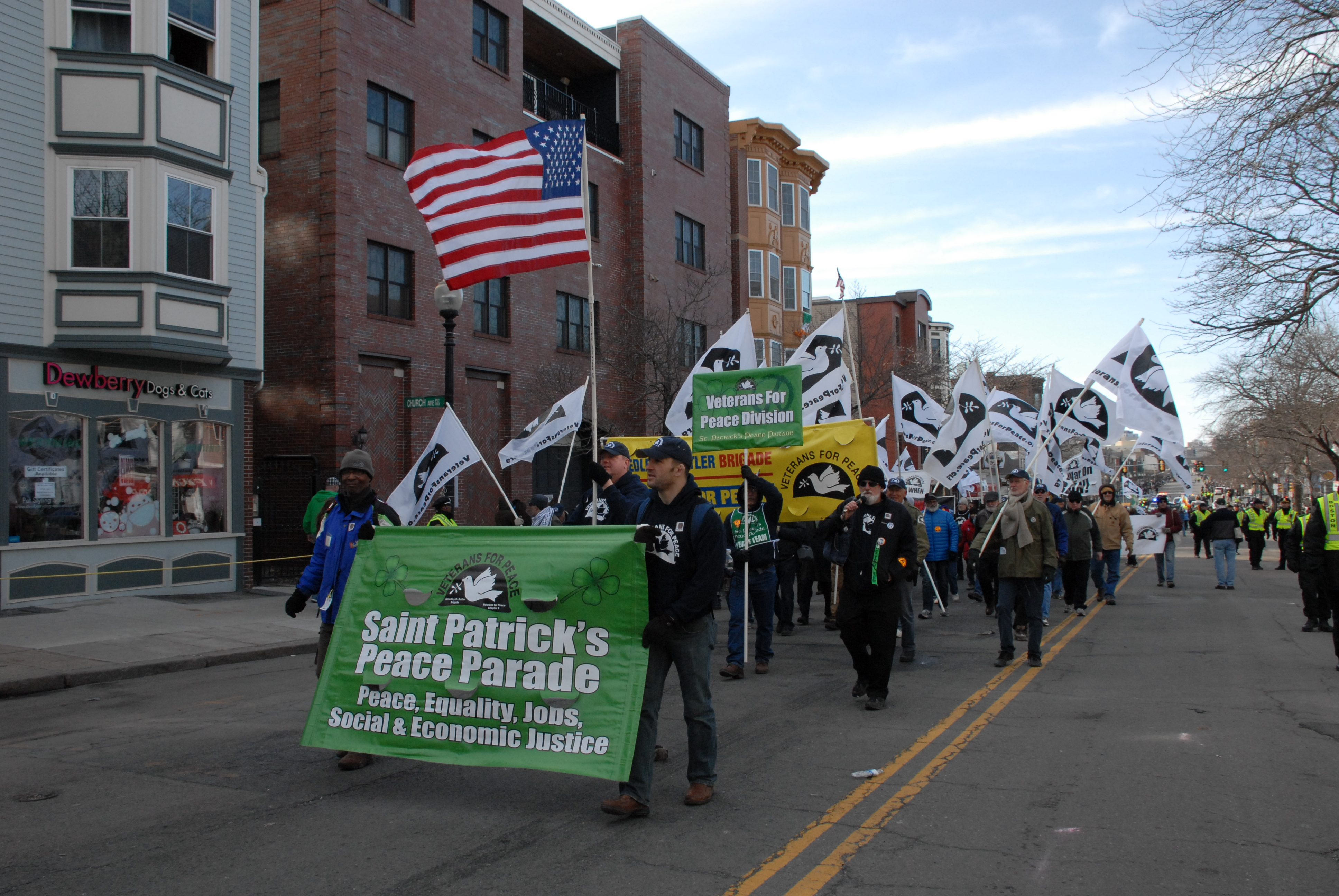 Saint Pat's Peace Parade