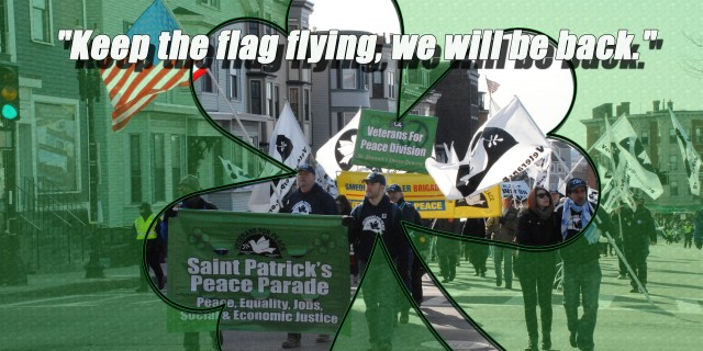 Saint Patrick's Peace Parade Cancelled